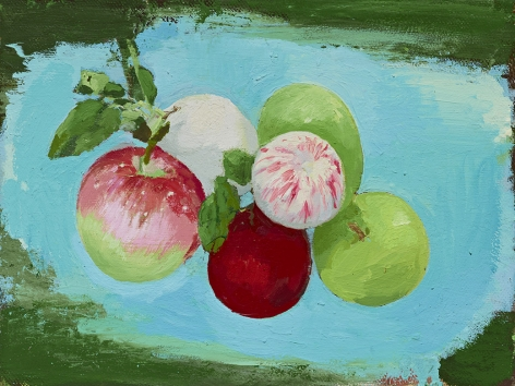 Christopher Brown Small Apples, 2017