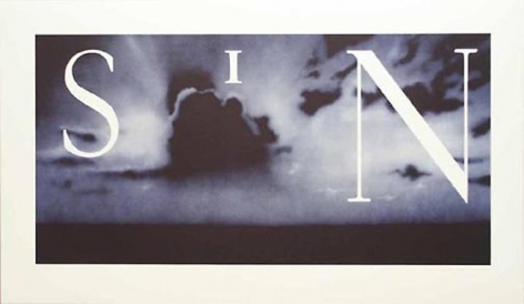 Ed Ruscha Sin - Without