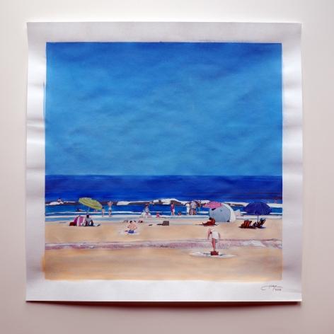 IscaGreenfield-Sanders No Name (Beach), 2021