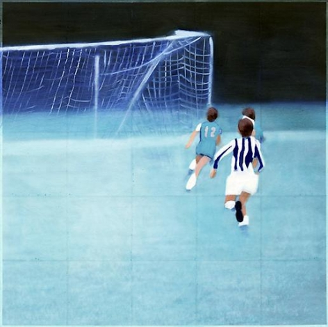 Isca Greenfield-Sanders Soccer (blue), 2010
