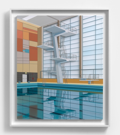Williams, Lucy Indoor Pool (with mural), 2021