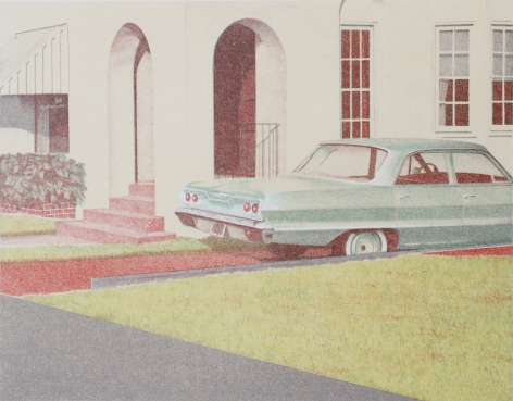 Robert Bechtle '63 Bel Air, 1973