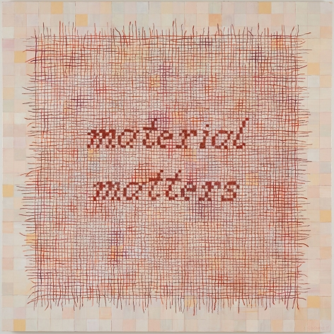 Clare Kirkconnell Material Matters, 2018