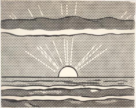 Roy Lichtenstein, Drawing for Landscape, 1964