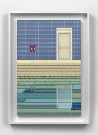 LucyWilliams Mosaic Pool #2, 2021