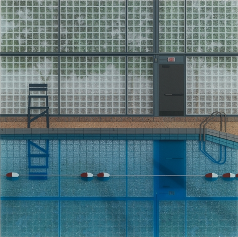 Lucy Williams, Pool at Sherman Park, 2017