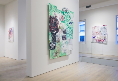 Installation view of Mark Fox, 2017