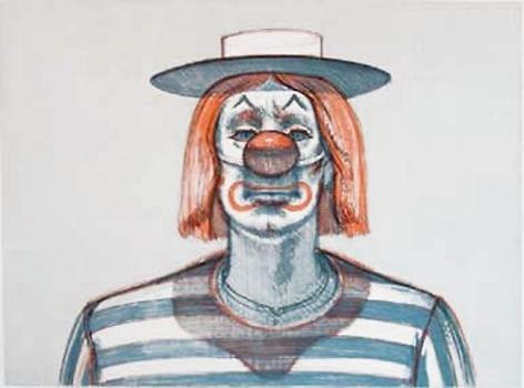 Wayne Thiebaud Clown
