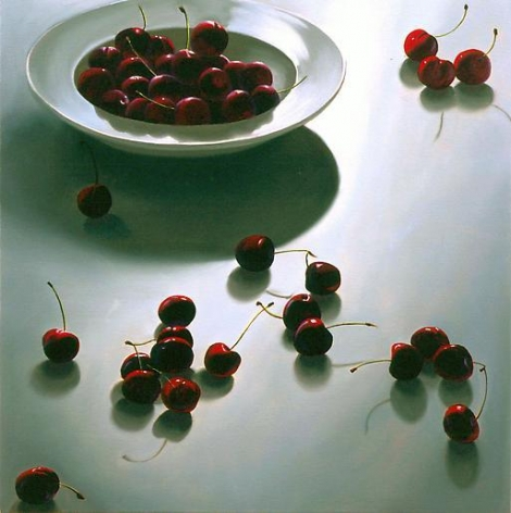 Cherries 2007 oil on canvas