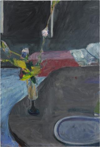 Richard Diebenkorn Interior with Flowers, 1961