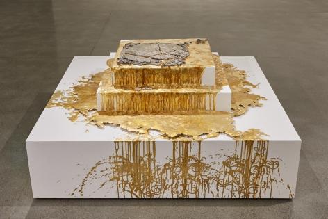 Diana Al-Hadid Fool's Gold, 2014
