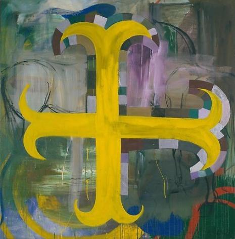Untitled (Gelbes Kreuz)