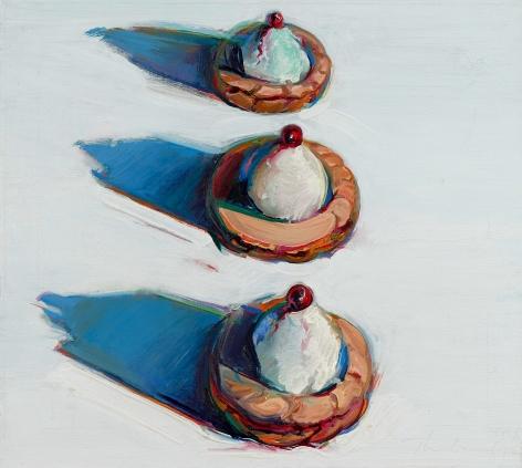 Wayne Thiebaud Cherry Tarts, 1965-76