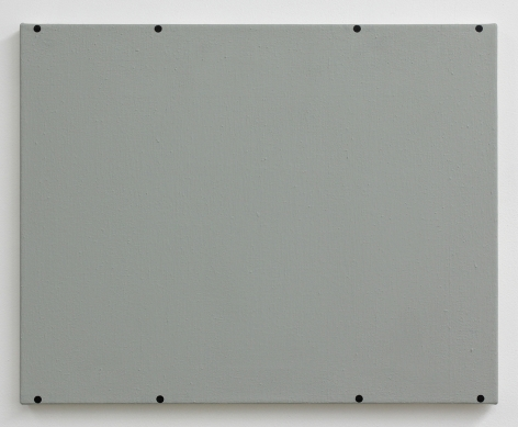 Matthew Feyld, Untitled (eight black circles), 2015