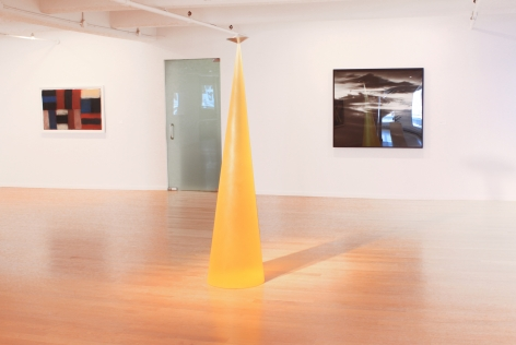 Installation view of Four Decadres: Drawings and Works on Paper, 2014