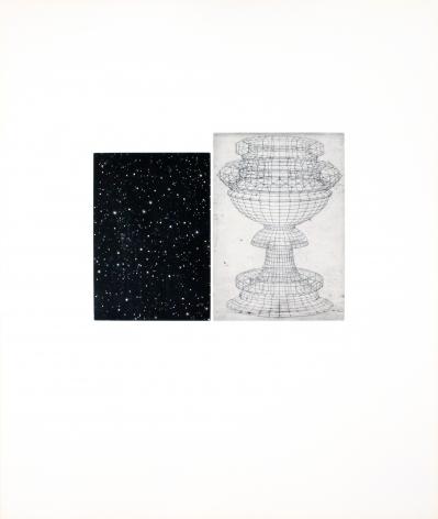 Vija Celmins, Constellation - Uccello,1983