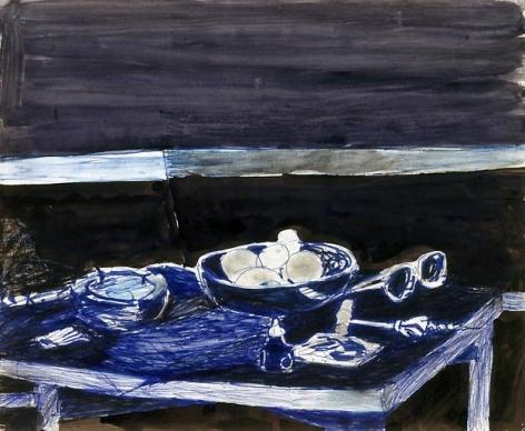 Richard Diebnekorn Untitled (Still Life on Table)