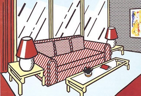 Roy Lichtenstein Red Lamps
