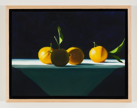 BruceCohen Oranges on White Tablecloth, 2021