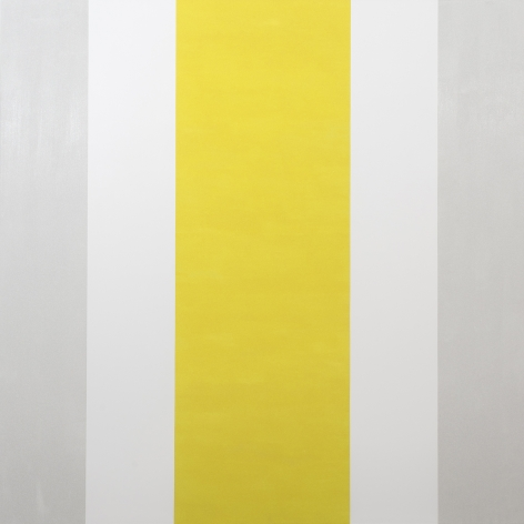 Mary Corse Untitled (White, White, Yellow, Beveled), 2015