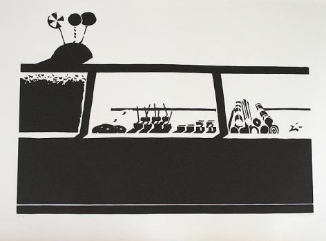 Wayne Thiebaud Candy Counter, 1970