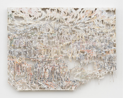 Diana Al-Hadid Visions of Life and the Youthful Fancy of Early Architecture, From the Gay Morning into the Evening of Dreams, 2018