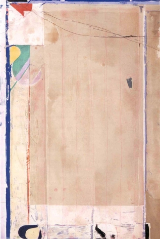 Richard Diebenkorn Touched Red, 1991