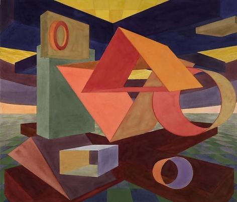 Al Held Umbria XXIII, 1992