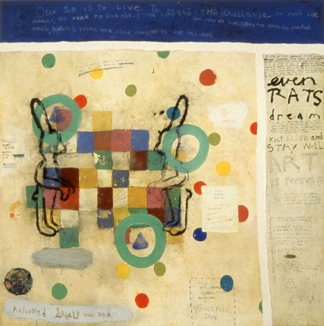 Squeak Carnwath, Hoping for Happiness, 2001