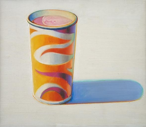 Wayne Thiebaud Drink Cup, 1971-72