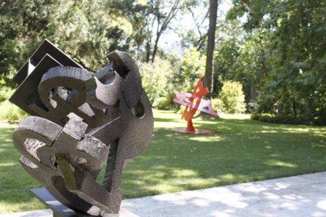 Installation view ofSculpture in the Garden, 2016