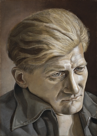 Lucian Freud, Head (Napper Dean Paul), 1953-54