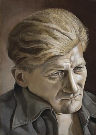 Lucian Freud, Head (Napper Dean Paul), 1953-54