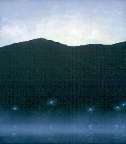 Stephen Hannock Nocturne for the River Keeper, 2001