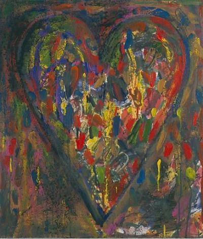 Berries 2003 mixed media on wood panel