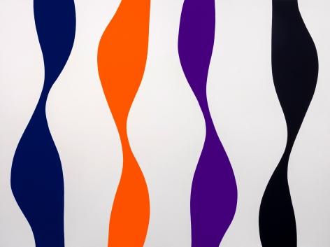 Pour, 2021 Acrylic on canvas