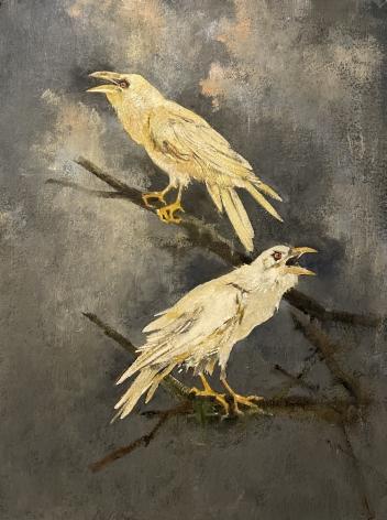John Alexander Golden Ravens Looking For Love, 2021