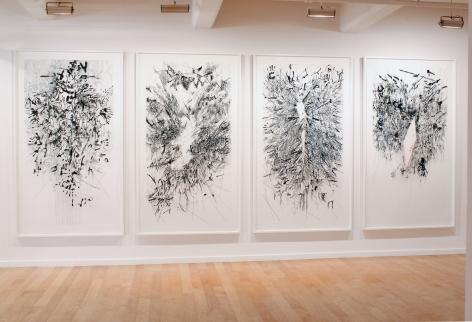 Julie Mehretu Myriads, Only By Dark, 2014