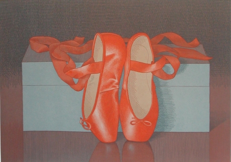 Mark Adams Toe Shoes, 1993
