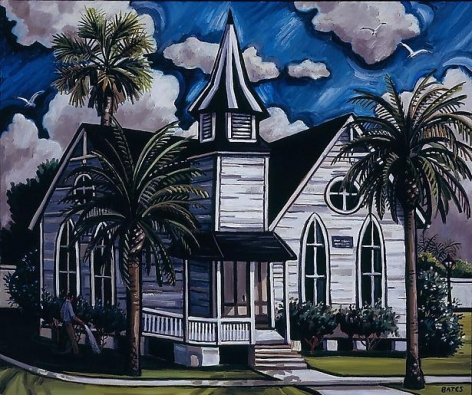 David Bates Church - Galveston, 2007