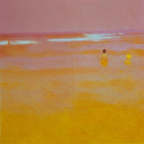 Two Bathers (Pink)