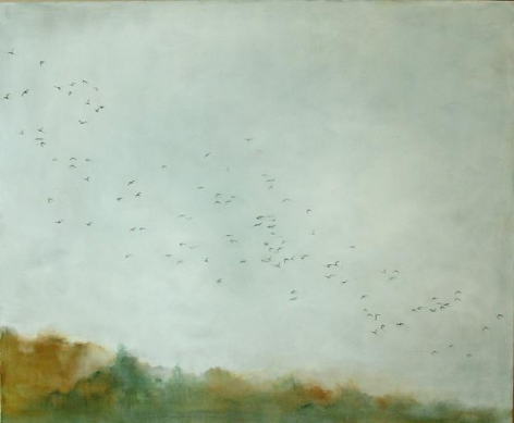 Rising (autumn sky)
