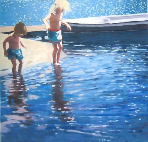 Isca Greenfield-Sanders Star Island (2 Kids), 2009