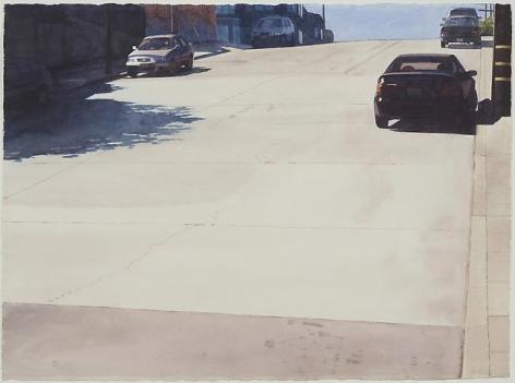 Robert Bechtle Six Cars on 20th Street