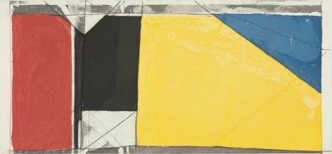 Richard Diebenkorn Folsom Street Variations III (Primaries), 1986