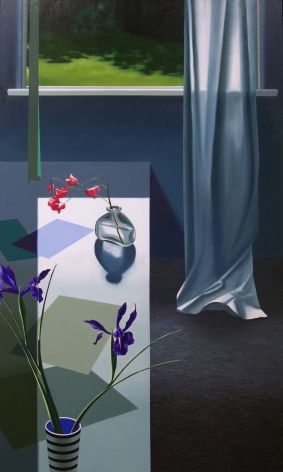 BruceCohen Interior with Iris and Sweet Peas, 2020