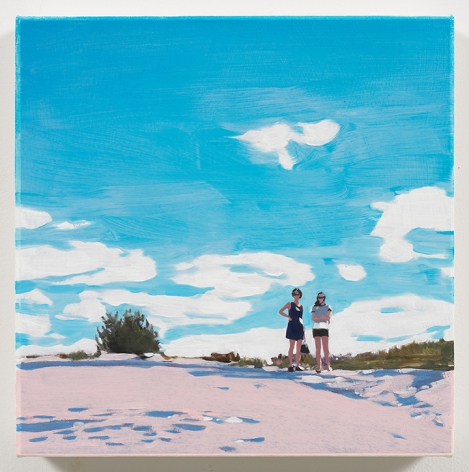 Isca Greenfield-Sanders Two Girls, 2018