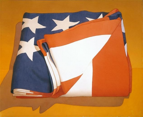 Mark Adams Folded Flag, 1994