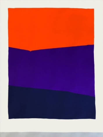 Paul Kremer Window 04 (paper study), 2017