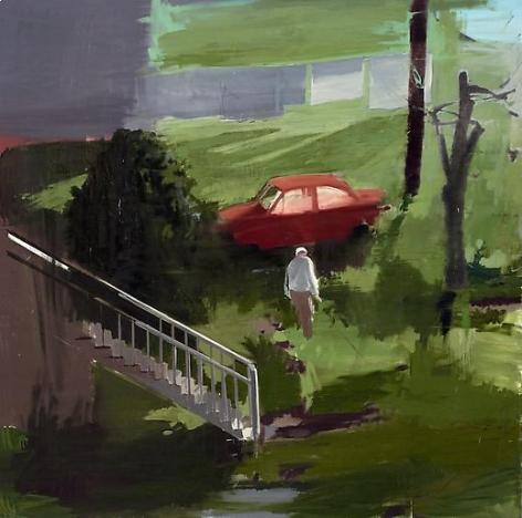 Towards the Neighbor's Yard